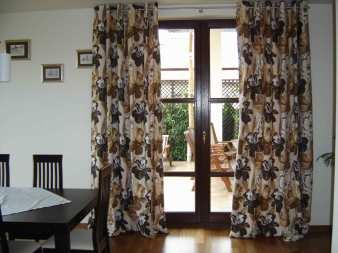 Dekoracja okien - przykładowe wykonanie